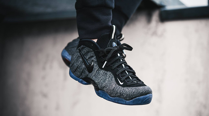 42fbbf050e7 On foot Look at the Nike Air Foamposite Pro Tech Fleece 624041-007 a 04