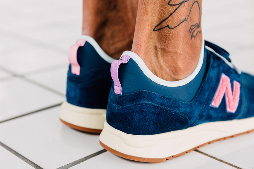 On foot Look at the Titolo x New Balance 247 Deep Into The Blue Buy New Sneakers Trainers FOR Man Women in UK Europe EU Germany DE 01