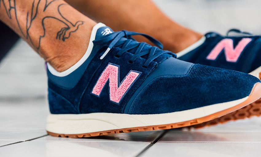 On foot Look at the Titolo x New Balance 247 Deep Into The Blue Buy New Sneakers Trainers FOR Man Women in UK Europe EU Germany DE 02