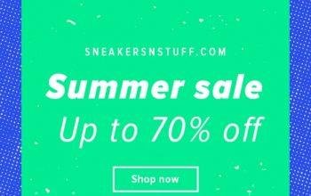 Sneakernstuff Summer Sale Just Got More Interesting