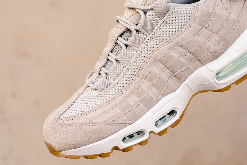 The Nike Air Max 95 Premium Light Bone Available – Fastsole