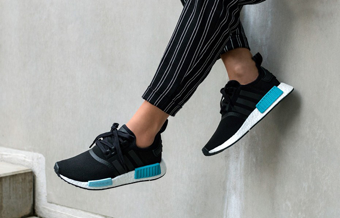 8183b248c5a09 adidas NMD R1 Icey Blue Black BY9951 Buy New Sneakers Trainers FOR Man  Women in UK ...