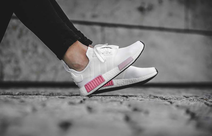 Adidas NMD R1 Runner Boost White Icey Pink Women's BY9952