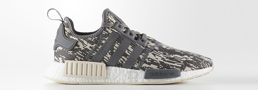 5ac89fc644bdc adidas NMD R1 Linen Camo brings back the hype of classic Nomad Runners and  presents itself in a more fashionable and posh way. This NMD R1 release  follows ...