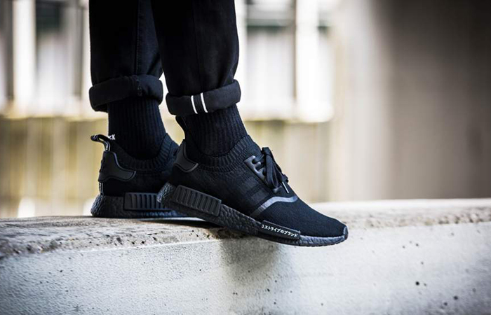 Adidas Originals NMD R1 & XR1 Primeknit, Japan Boost in Black