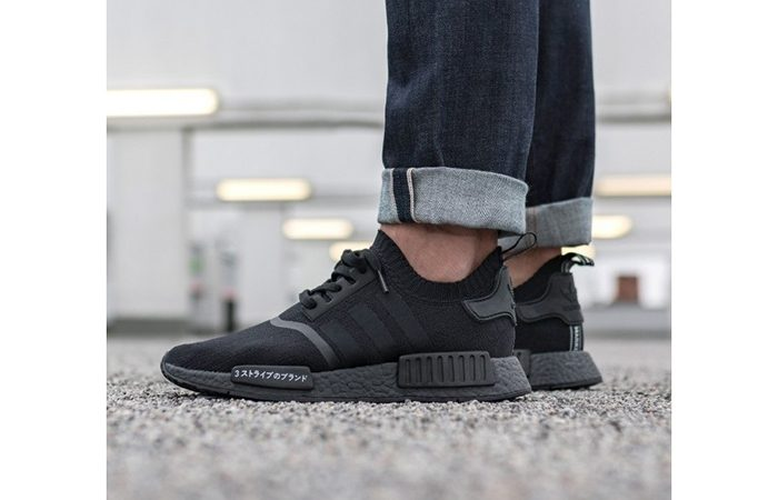 newest 7b291 12720 Adidas NMD R1 Primeknit Black Japan Boost – Fastsole adidas nmd r1 black  japanese