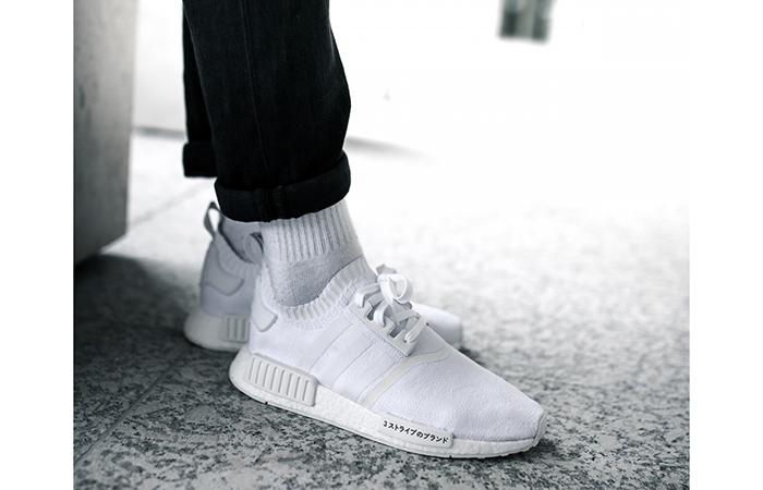 adidas NMD R1 Primeknit White Japan Boost BZ0221 Buy New Sneakers Trainers FOR Man Women in UK Europe EU Germany DE 011