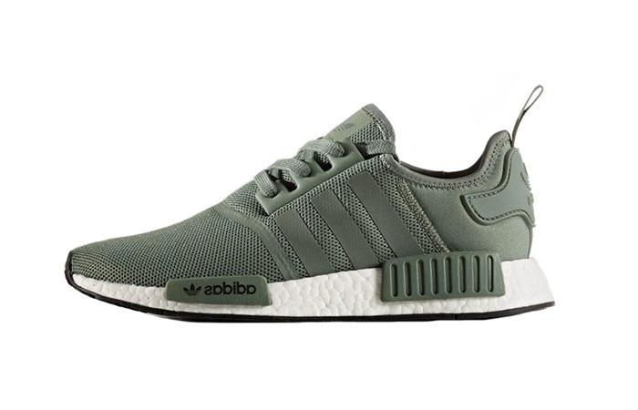 Reduction - adidas nmd r1 dark green