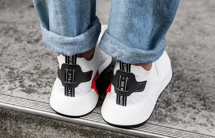 adidas NMD R2 White Black BY3015 Buy New Sneakers Trainers FOR Man Women in UK Europe EU Germany DE 03
