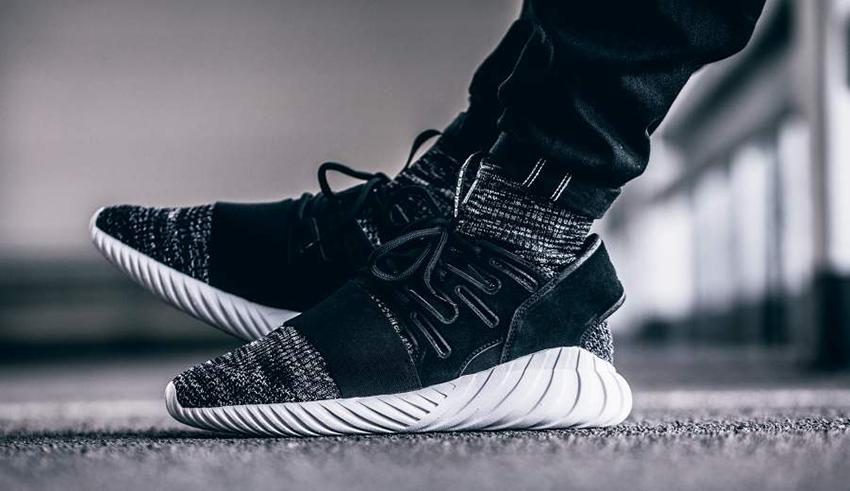 adidas Tubular Doom Primeknit Black – £75