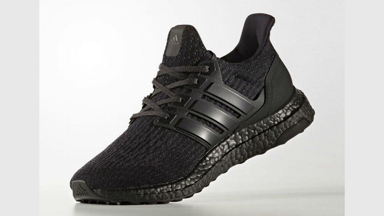 adidas ultra boost triple black europe