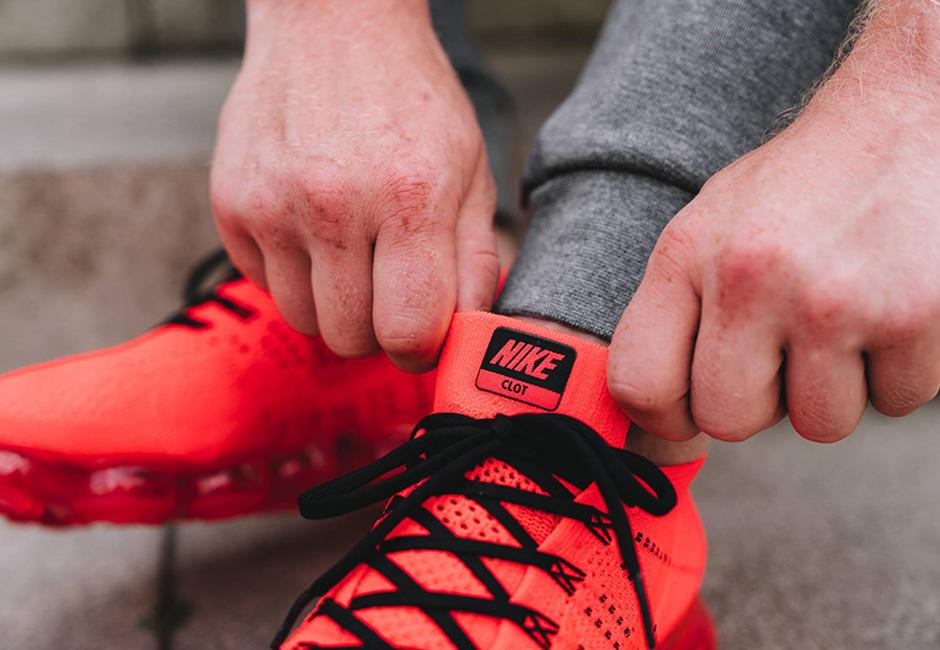 e2a99939824ce CLOT x Nike Air VaporMax Orange Release Date – Fastsole