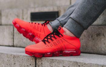 CLOT x Nike Air VaporMax Orange