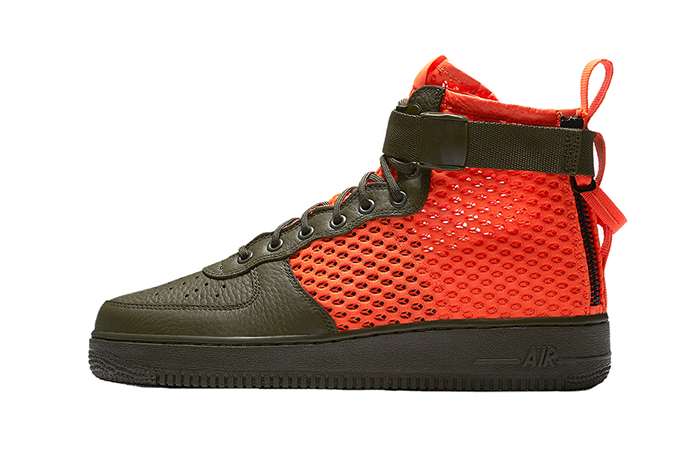 Nike Air Force 1 Special Field Khaki Orange AA7345-300 06