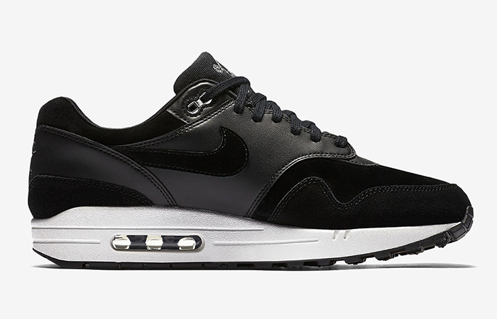 Nike Air Max 1 Premium Black 875844-001 Buy New Sneakers Trainers FOR Man Women in UK Europe EU 01