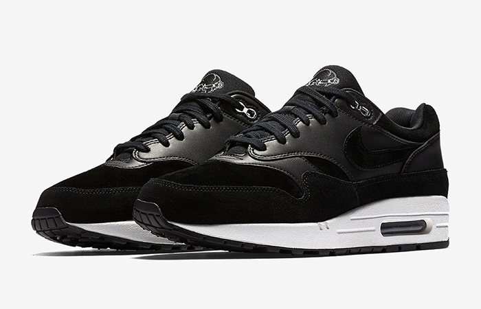 Nike Air Max 1 Premium Black 875844-001 Buy New Sneakers Trainers FOR Man Women in UK Europe EU 02