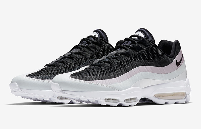 new arrival 9b60c 47767 Nike Air Max 95 Ultra Black Pink White 857910-009
