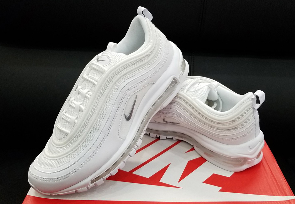 4852af2194 Nike Air Max 97 Triple White Releasing in August – Fastsole