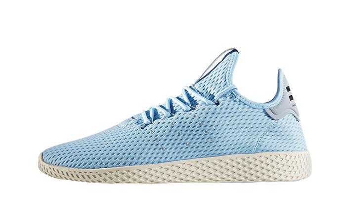 Pharrell x adidas Tennis Hu Blue 01