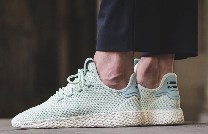 Pharrell x adidas Tennis Hu Green CP9765 Buy adidas NMD Nike Jordan VoporMax Sneakers Trainers in UK EU DE Europe Germany for Man & Women FastSole 07