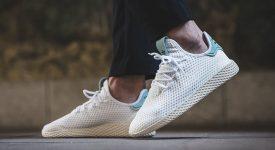Pharrell x adidas Tennis Hu White Green BY8716 Buy adidas NMD Nike Jordan VoporMax Sneakers Trainers in UK EU DE Europe Germany for Man & Women FastSole 03
