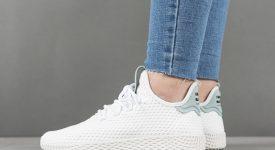 Pharrell x adidas Tennis Hu White Green BY8716 Buy adidas NMD Nike Jordan VoporMax Sneakers Trainers in UK EU DE Europe Germany for Man & Women FastSole 09