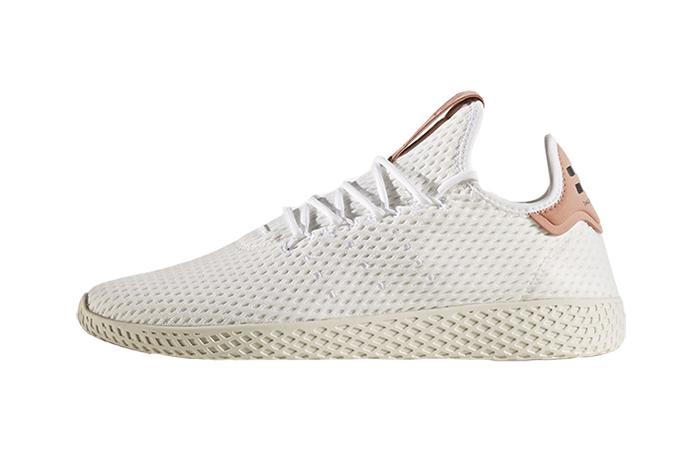 adidas tennis hu white pink