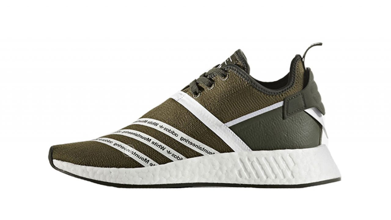 f73ea477 White Mountaineering adidas NMD R2 Trace Olive – Fastsole