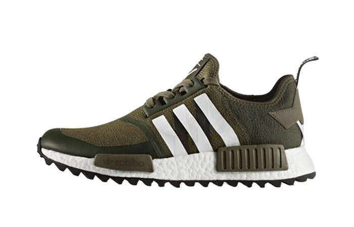 newest collection 7851d 89cef White Mountaineering x adidas NMD R1 Trace Olive Trail