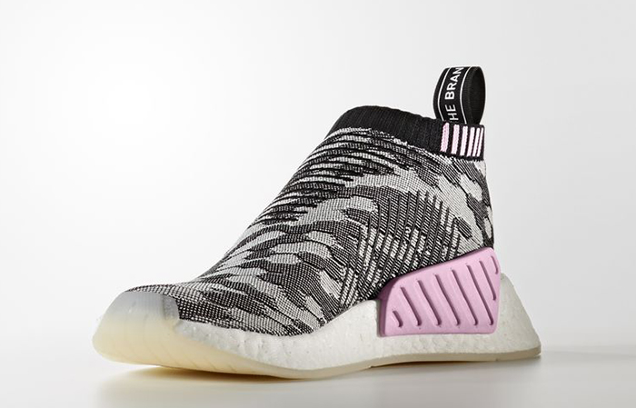 dca26b0bf3049 ... adidas NMD CS2 PK W Black Grey Glitch BY9312 02 ...