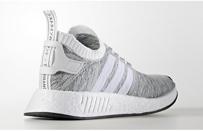adidas nmd r2 primeknit grey