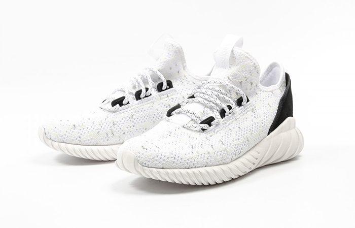 online retailer 4bf52 65caf adidas Tubular Doom Sock White Black