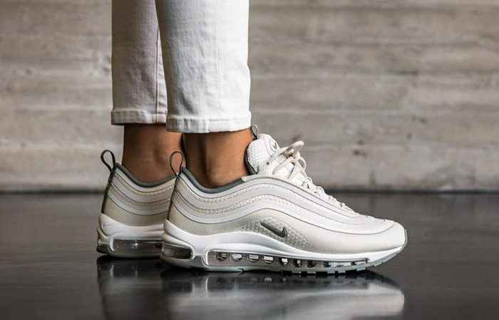Womens Nike Air Max 97 Ultra 17 Light Bone Trainer | womens
