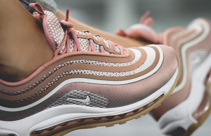 best sneakers db59e c0aea Nike Air Max 97 Ultra 17 Rose Gold Womens