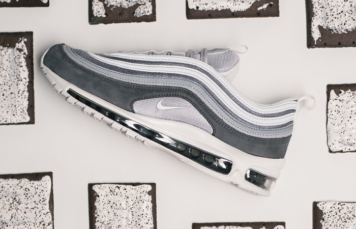 Nike Air Max 97 Wolf Grey Premium 312834-005 Buy adidas NMD Nike Jordan VoporMax Sneakers Trainers in UK EU DE Europe Germany for Man & Women FastSole 01