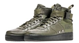 Nike Special Force Air Force 1 Mid Green Black 917753-300 Buy adidas NMD Nike Jordan VoporMax Sneakers Trainers in UK EU DE Europe Germany for Man and Women 01