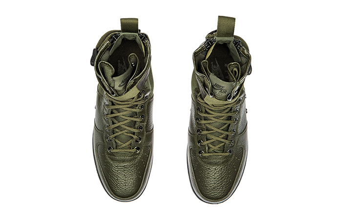Nike Special Force Air Force 1 Mid Green Black 917753-300 Buy adidas NMD Nike Jordan VoporMax Sneakers Trainers in UK EU DE Europe Germany for Man and Women 02