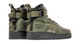Nike Special Force Air Force 1 Mid Green Black 917753-300 Buy adidas NMD Nike Jordan VoporMax Sneakers Trainers in UK EU DE Europe Germany for Man and Women 03