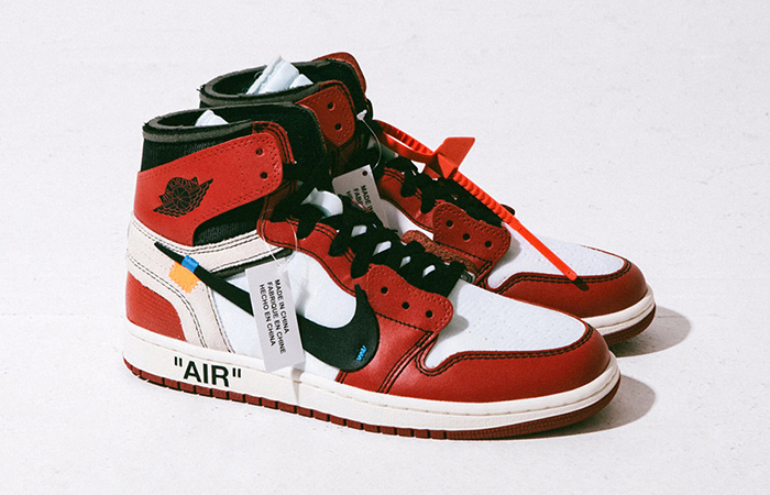 reputable site 2049e 21840 Off-White x Nike Air Jordan 1 Virgil Abloh