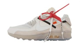 Off-White x Nike Air Max 90 Virgil Abloh Buy adidas NMD Nike Jordan VoporMax Sneakers Trainers in UK EU DE Europe Germany for Man and Women 01