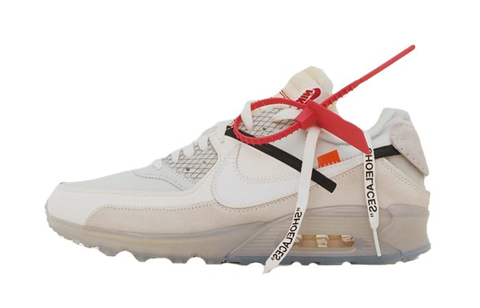 premium selection d333d 09a08 Off-White x Nike Air Max 90 Virgil Abloh