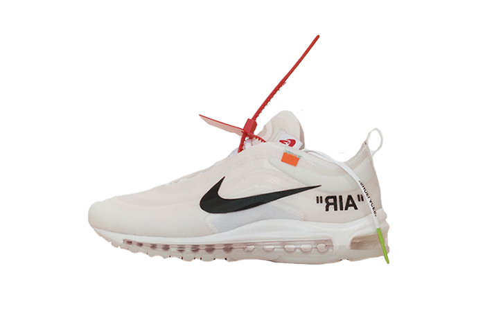 Casual Gray Nike Air Max 97 Off White VIRGIL ABLOH×NIKE THE