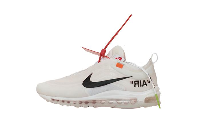 Off-White x Nike Air Max 97 Virgil Abloh Buy adidas NMD Nike Jordan VoporMax Sneakers Trainers in UK EU DE Europe Germany for Man and Women 01