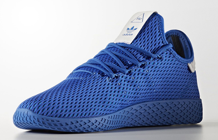 Pharrell x adidas Tennis HU Blue Solid Pack 01