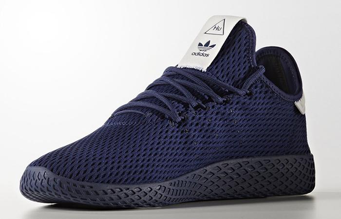 Pharrell x adidas Tennis HU Navy Solid Pack 01