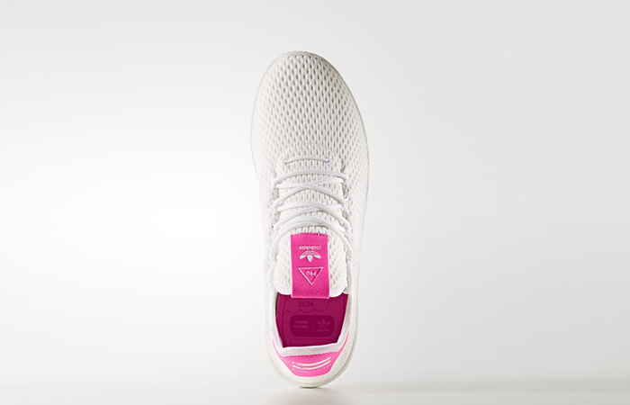 Pharrell x adidas Tennis HU Pink White BY8714 02