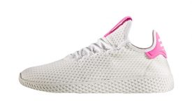 Pharrell x adidas Tennis HU Pink White BY8714 04