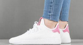 Pharrell x adidas Tennis HU Pink White BY8714 05