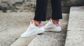 Pharrell x adidas Tennis HU Pink White BY8714 07