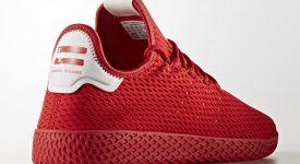 Pharrell x adidas Tennis HU Red Solid Pack 01